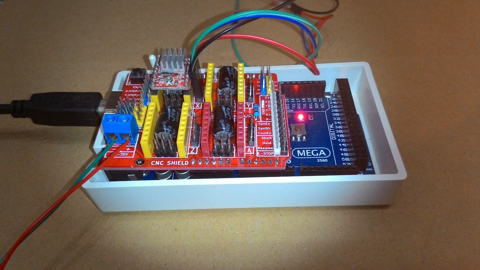 camera slider dolly makerslide arduino cnc shield a4988 driver 42bygh4417 [ 1600 x 900 Pixel ]